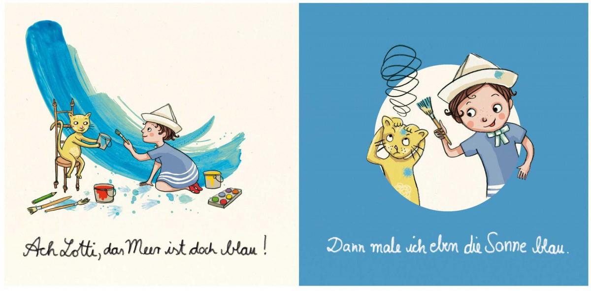 """""""Lotti und Theo - Meine Farben"""""""
