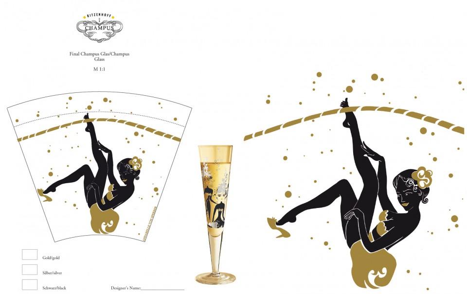 Ritzenhoff, Design for a Champagne Glas