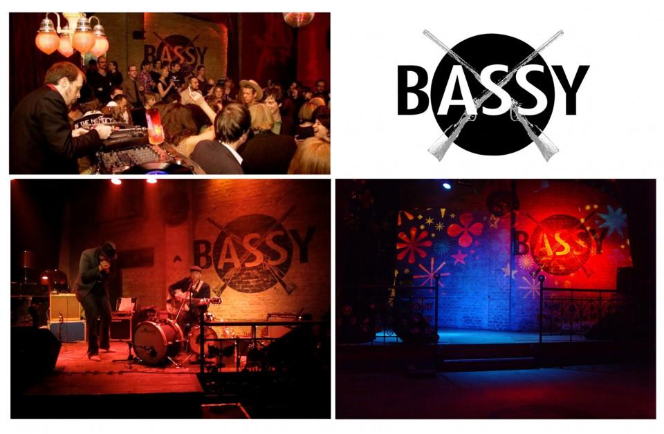 Bassy Club, wild music before 1969, Logo-Development, CI