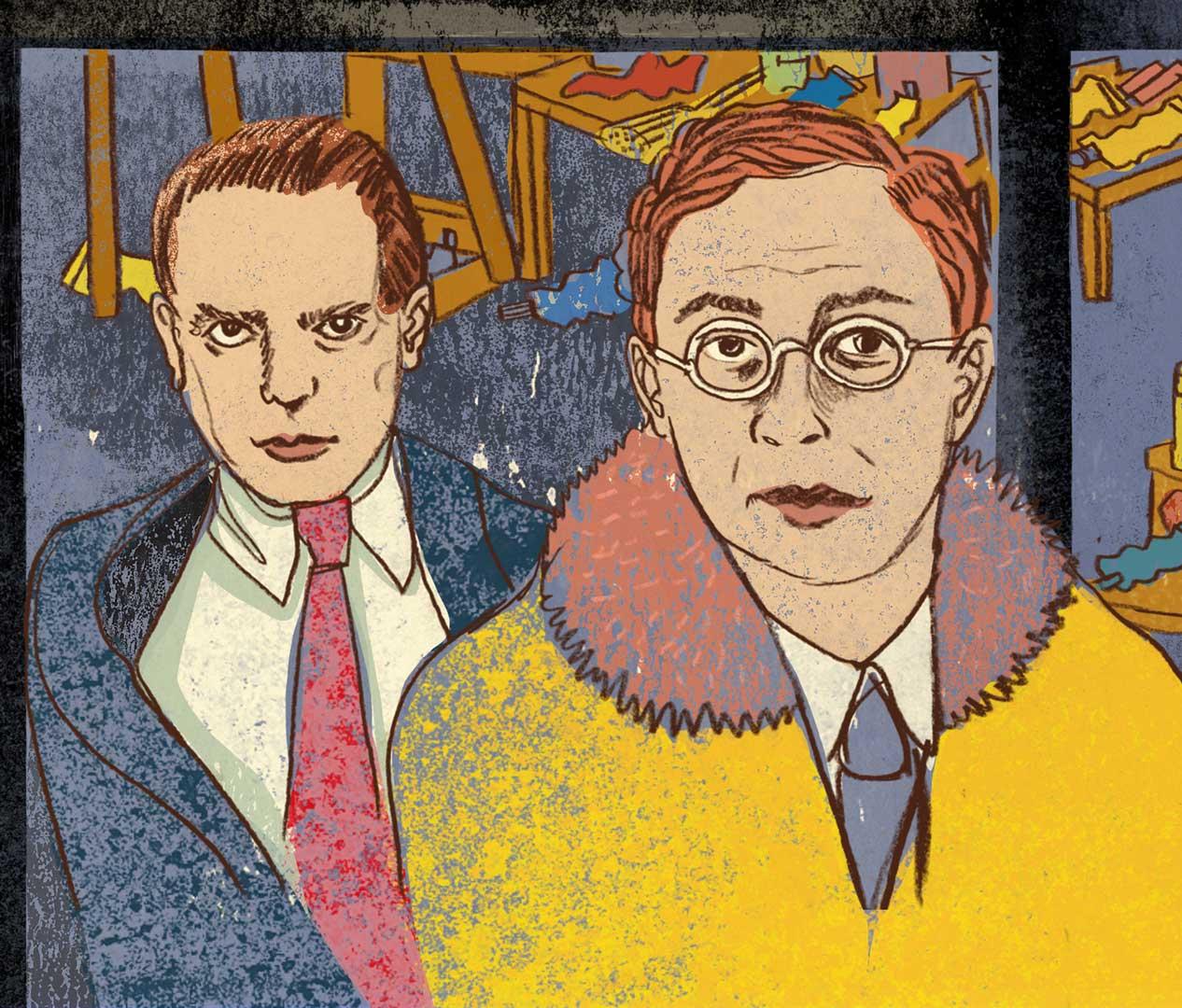 Paul Klee und Kandinski