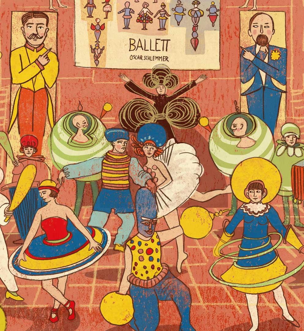 Bauhaus Das triadische Ballett