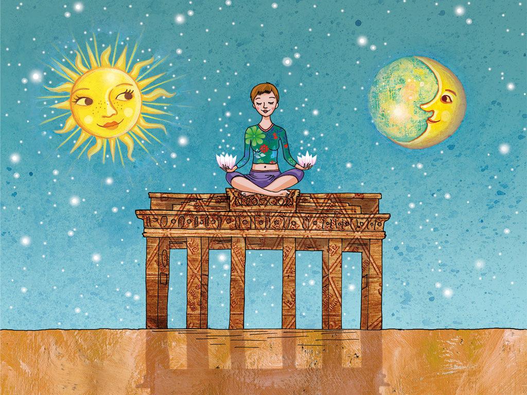 Yoga school Sonne und Mond, Berlin